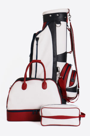 Imperial golf bag handmade in Italy with resistant and waterproof leather: sport golf set
