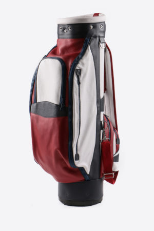 Main image Imperial golf bag handmade in Italy with resistant and waterproof leather