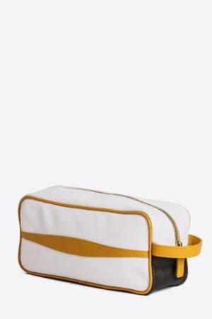 Ancient Sport Beauty Case white yellow dark brown resistant waterproof