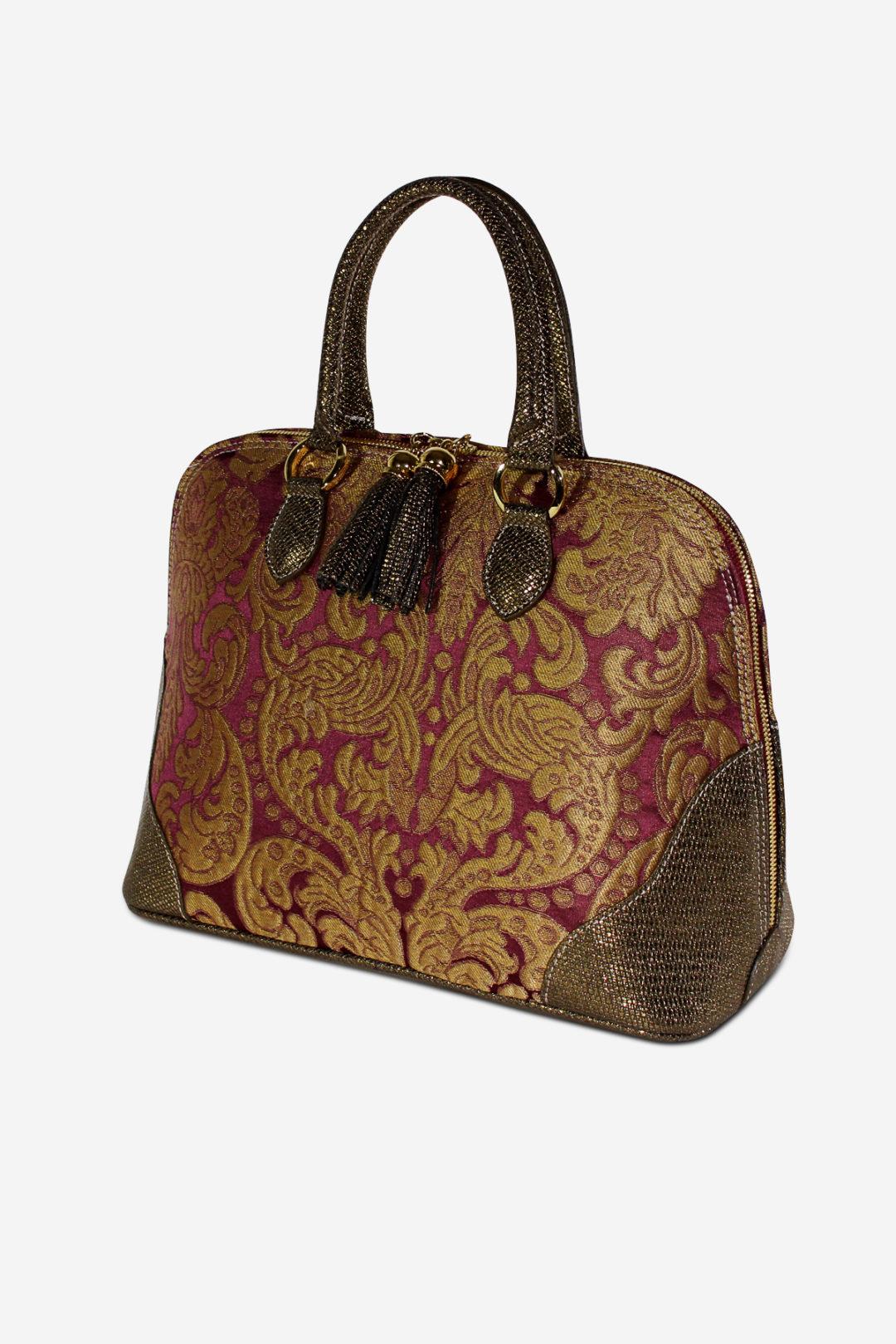Gold Damask Bag