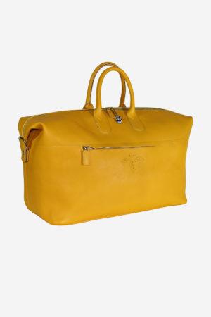 The 038 Venetian Bag vegetable tanned leather handmade in italy terrida venezia murano glass