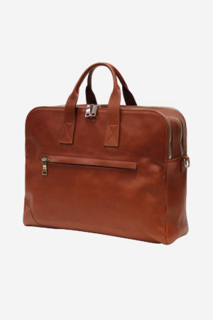 The Suitcase handmade in italy vegetable tanned leather briefcase terrida venezia leather bags italian bags business travel fashion