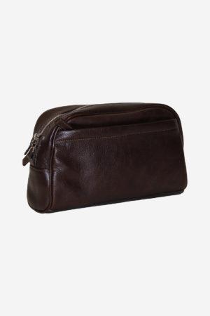 Classic Beauty Case handmade in italy vegetable tanned leather italian bag business travel venezia terrida