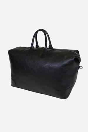Duffle Bag 038 handmade in italy vegetable tanned leather businee travel terrida venezia