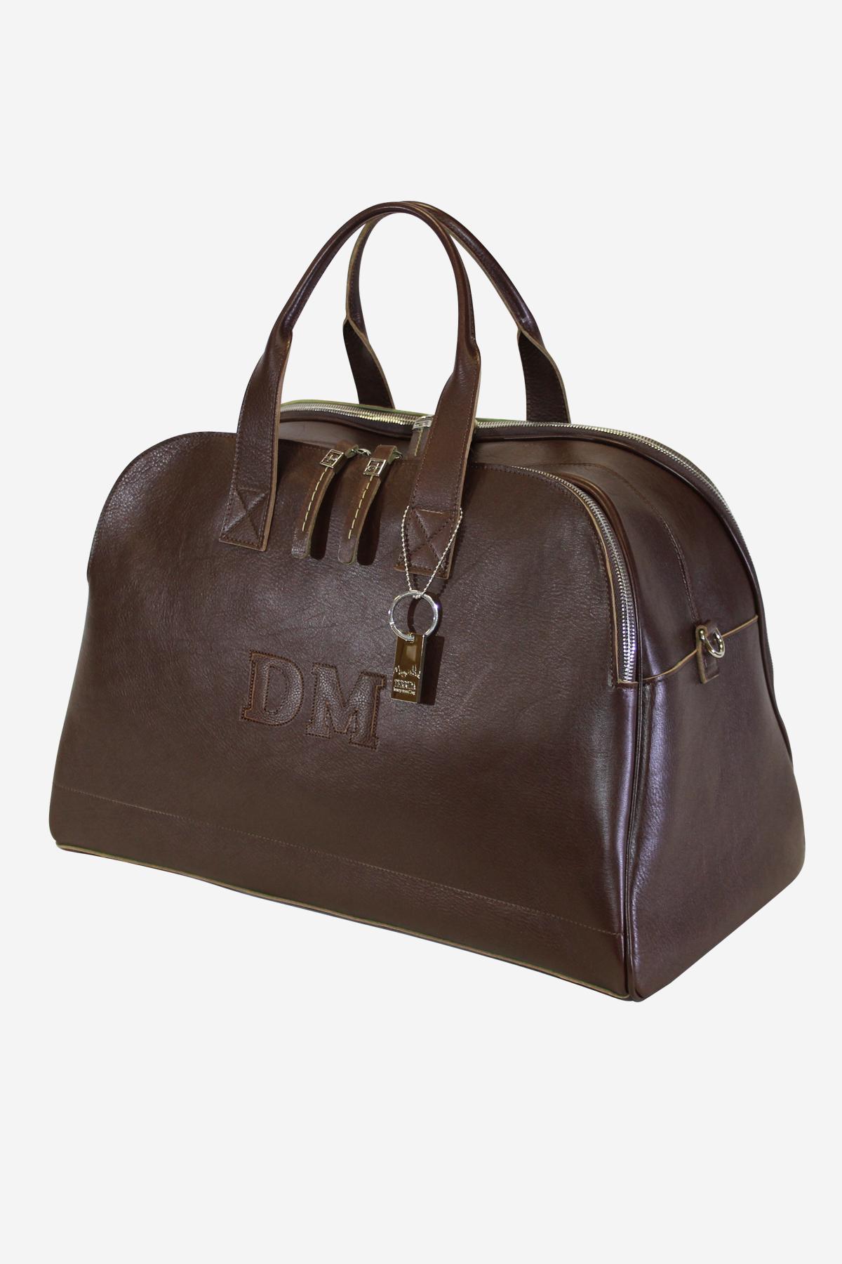Aviator Bag handmade in italy vegetable tanned leather terrida venezia italy microfiber italian bag duffle bag