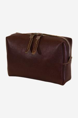 Innovative Beauty Case handmade in italy vegetable tanned leather terrida venezia italy business travel modern bag italian bags