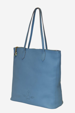 Colorful Shopper vegetable tanned leather handmade in italy murano glass venezia terrida leather bags
