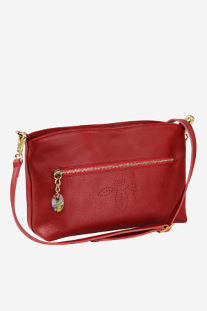 Venetian Purse vegetable tanned leather handmade in italy venezia terrida vegetable tanned leather
