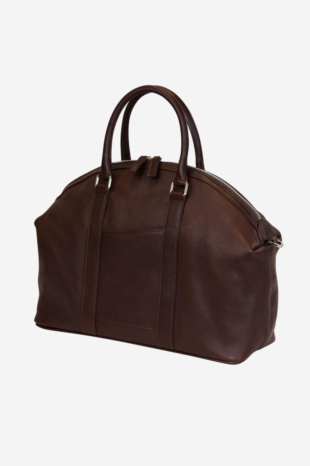 Chapel Bag handmade in italy vegetable tanned leather italian bags terrida venezia business fashion