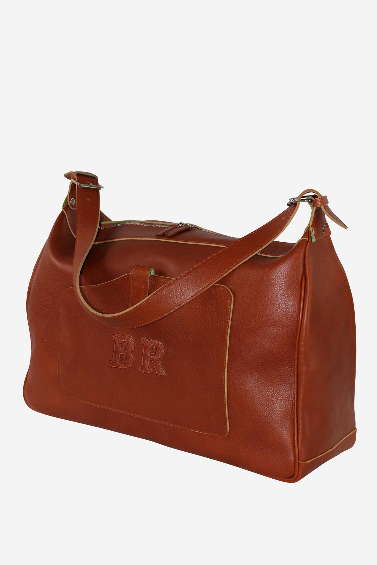 Modern Bag handmade in italy vegetable tanned leather terrida venezia italy business travel