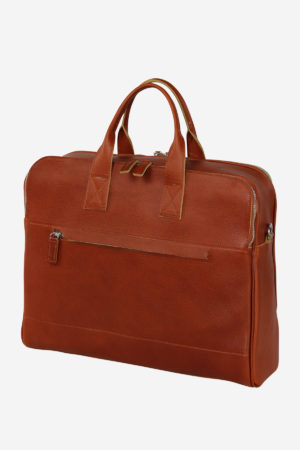 Light Case handmade in italy vegetable tanned leather terrida venezia italy business travel italian leather bags briefcase