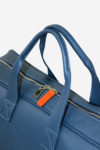 Lightning Sport Bag handle detail leather bag sport made in italy