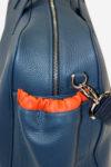 Lightning Sport Bag pocket detail waterproof leather