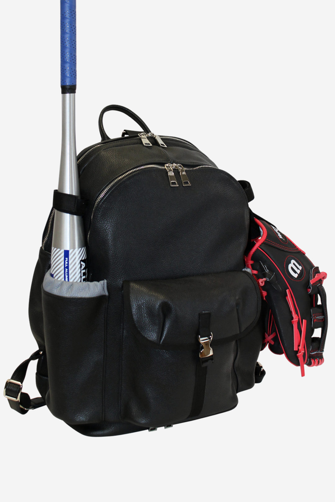 Black Baseball Backpack