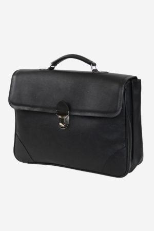 Medium Case handmade in italy vegetable tanned leather italian briefcase business travel italy venezia