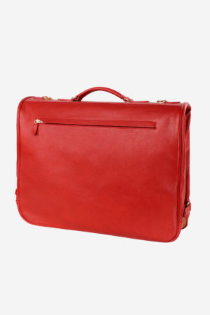 Royal Garment Bag handmade in italy vegetable tanned leather luxury travel business royal terrida venezia italy royal garment bag