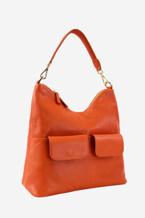Colorful Bag handmade in italy by terrida vegetable tanned leather classic design handbag shoulderbag