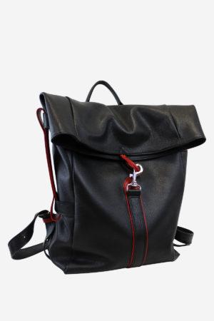 Scar Backpack handmade in italy vegetable tanned leather terrida venezia leather bag italian bag backpack