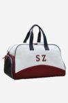 Original Sport Bag personalization initials leather