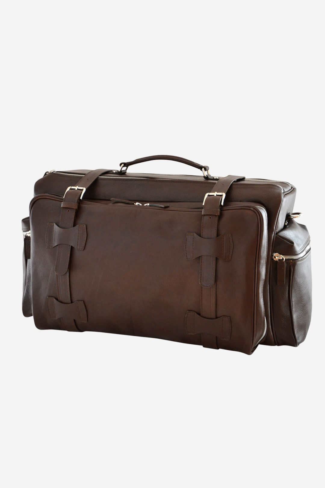 Weekender Jones handmade in italy vegetable tanned leather terrida venezia marco polo collection business travel