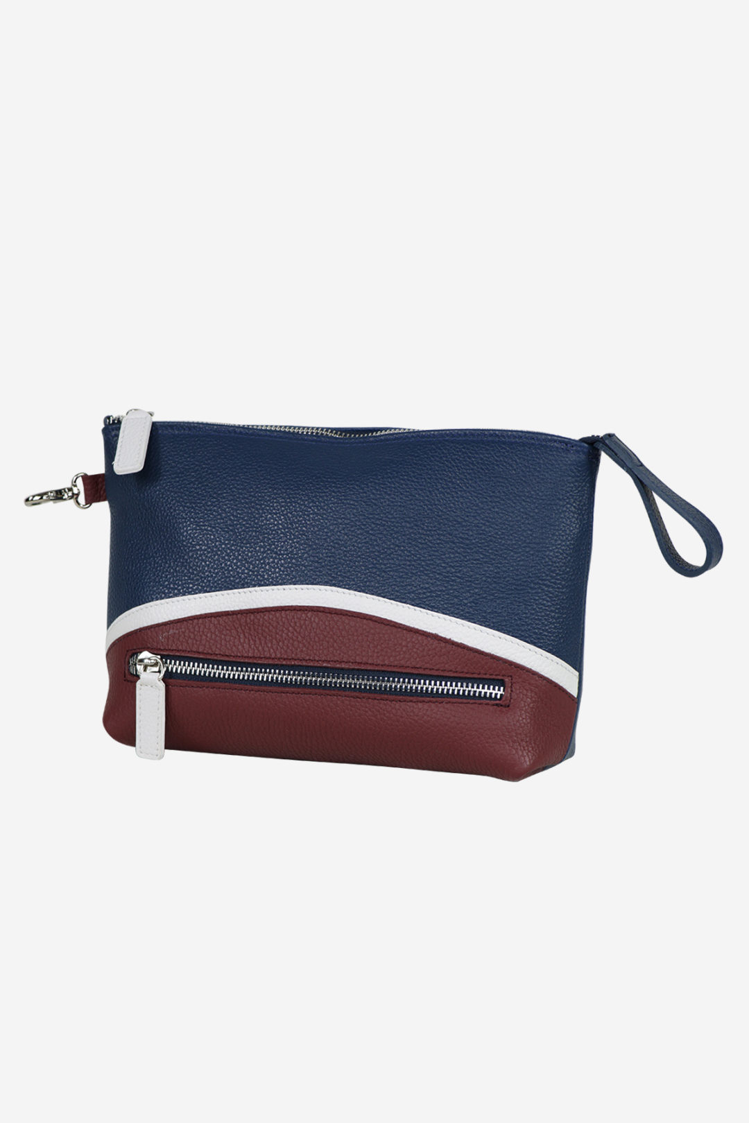 Golf Accessory Slim front waterproof leather white blue red