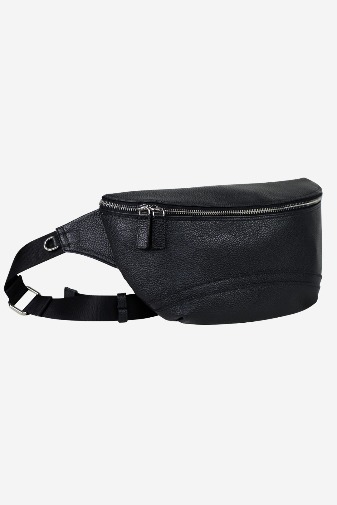 Modern Pouch black leather