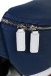 Modern Pouch detail metal zipper