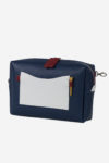 Golf accessory tee score waterproof leather white blue red