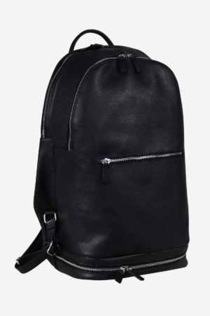 Sport Modern Backpack black edition waterproof handmade in italy genuine leather