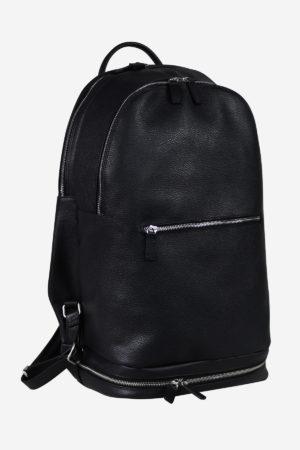 Sport Modern Backpack black edition waterproof handmade in italy genuine leather