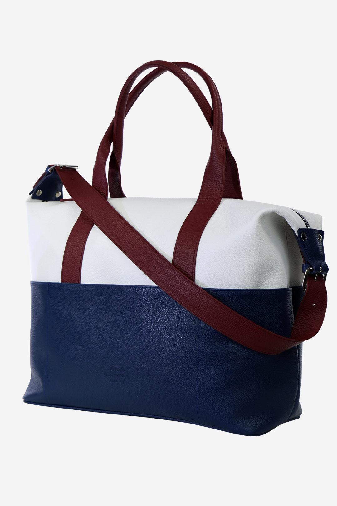 Antique Sport Bag handmade in italy genuine leather terrida venezia sport bag