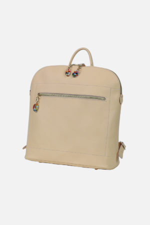 Aurora Backpack le1332m vegetable tanned leather handmade in italy terrida venezia